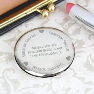 Personalised Someone Special Compact Mirror