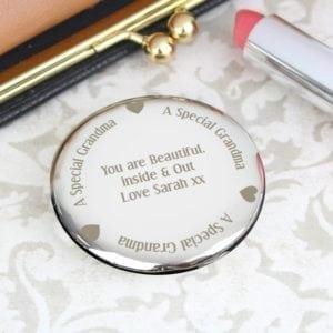 Personalised Grandma Compact Mirror