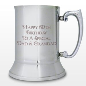 Personalised Bold Message Stainless Steel Tankard