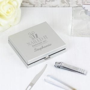 Personalised Nailed It Manicure Set