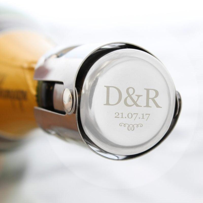 Personalised Monogram Bottle Stopper