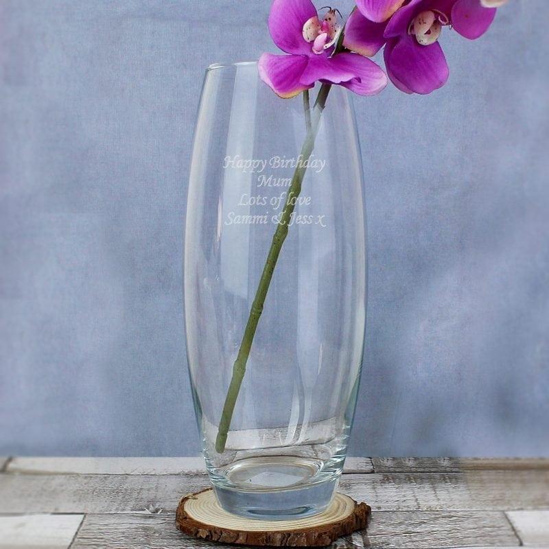 Personalised Tapered Bullet Vase