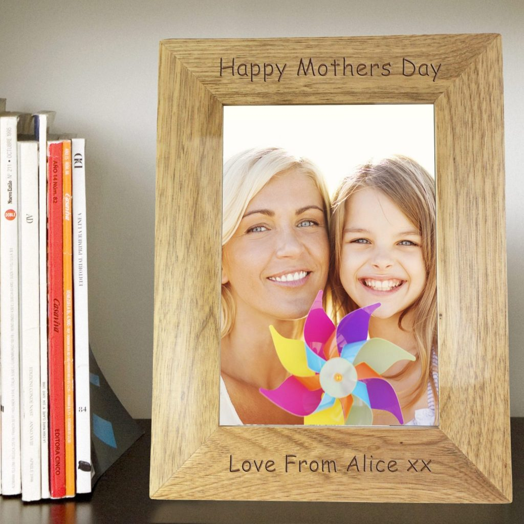 Personalised 5x7 Wooden Photo Frame