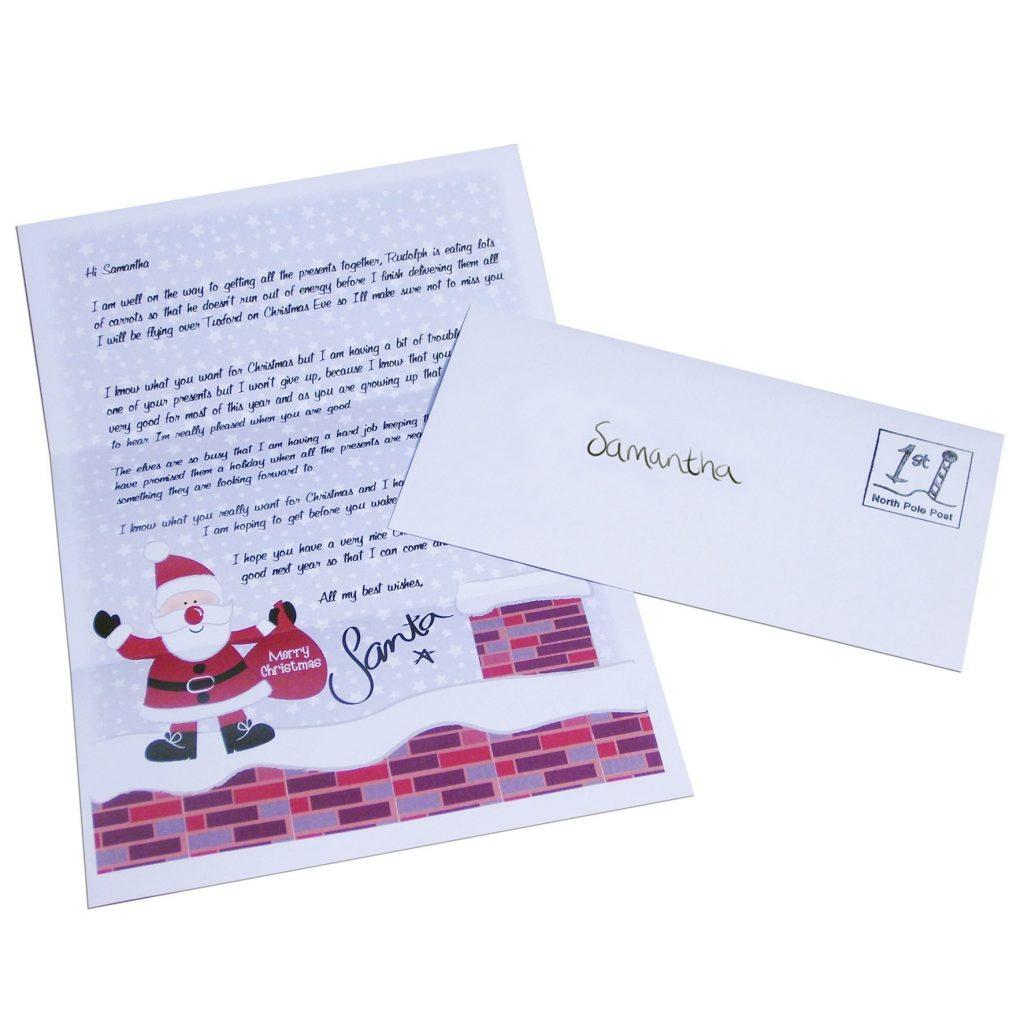 Personalised Rooftop Santa Letter