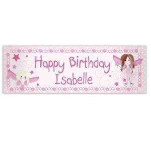 Personalised Fairy Banner