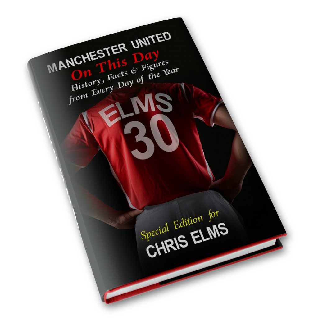 Personalised Manchester United On This Day Book