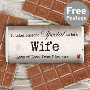 Personalised Someone Special Milk Chocolate Bar