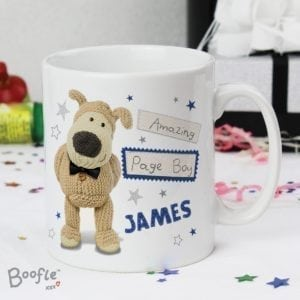 Personalised Boofle Male Wedding Mug