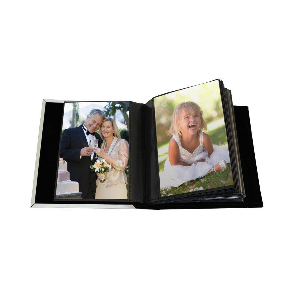 Personalised Decorative Ruby Anniversary Photo Frame Album 4x6