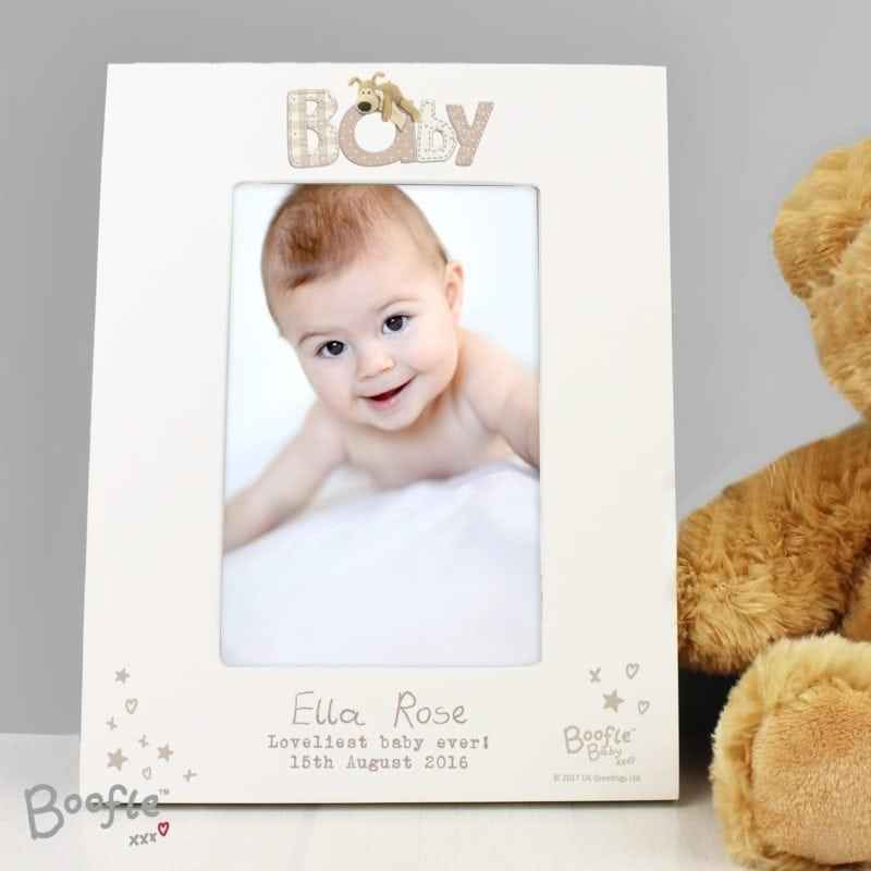 Personalised Boofle Baby 4x6 Photo Frame