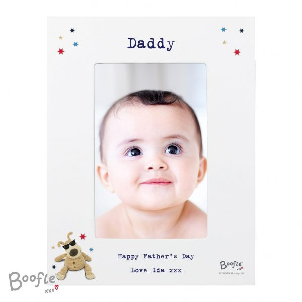 Personalised Boofle Stars 4x6 Photo Frame