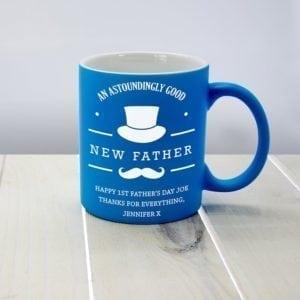 An Astoundingly Good New Father Matte Coloured Mug