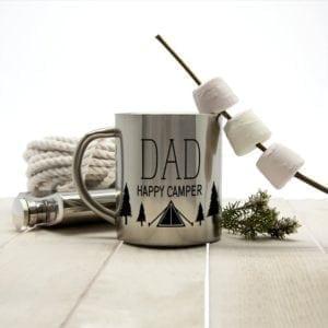 Dad's Happy Camper Outdoor Mug