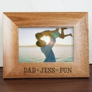 Fun with Dad Engraved Photo Frame