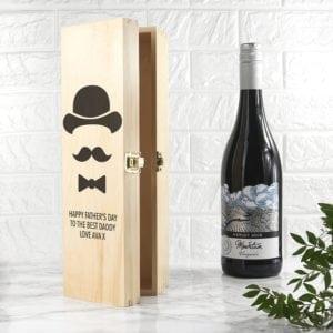 Gentleman Dad's Wine Box