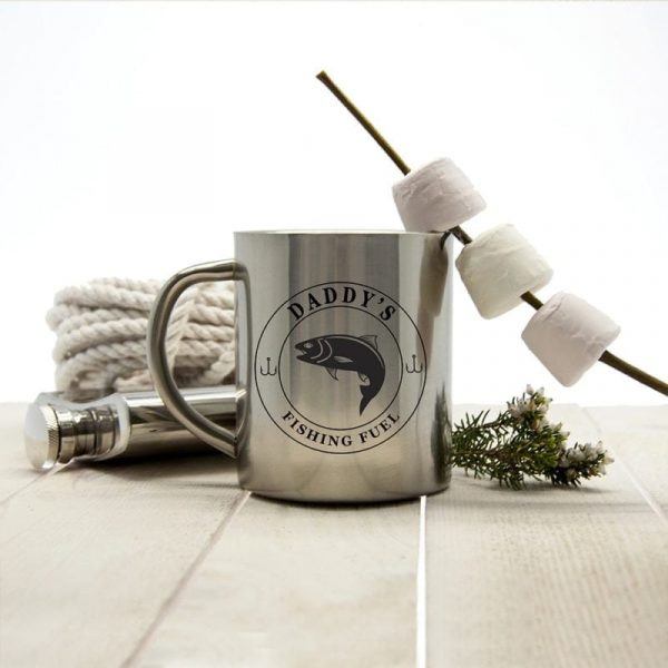Gentlemen's Fishing Fuel Outdoor Mug