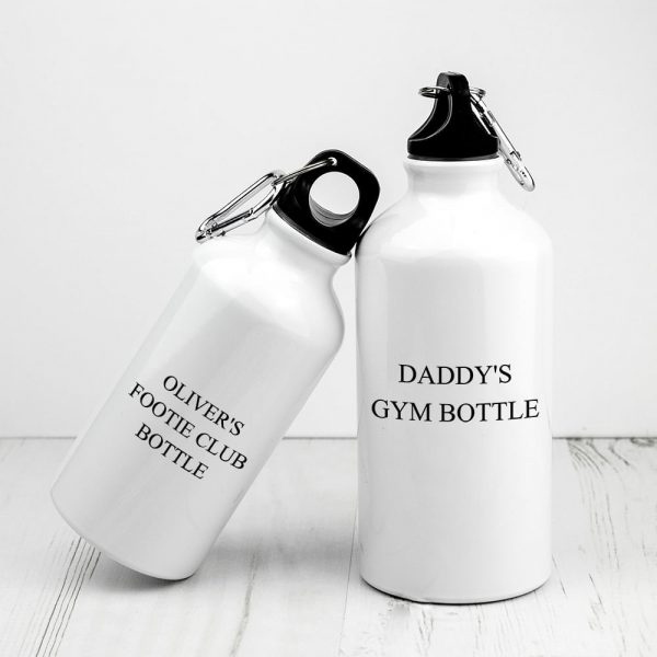 Personalised Daddy & Me Water Bottles