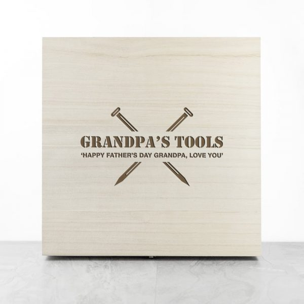Personalised Saves The Day Tool Box