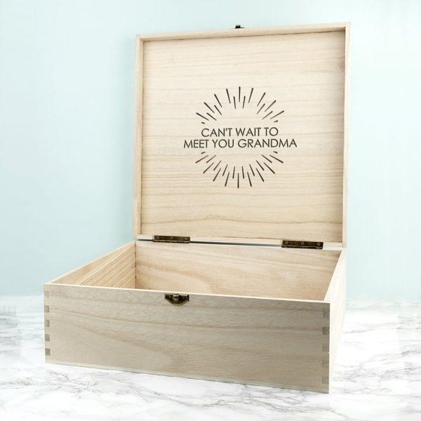 Personalised Surprise Announcement Box