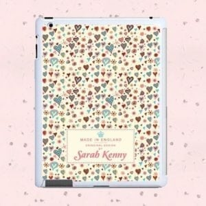Thousand Hearts Personalised Tablet and iPad Case