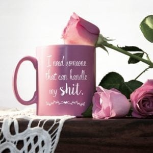 Personalised Can You Handle It Maid Of Honour Mug