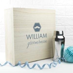 Personalised Classic Groomsman Box