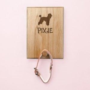 Personalised Dog Silhouette Peg Hook