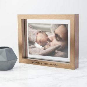 Personalised Metallic Copper Toned Photo Frame