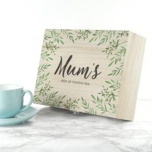 Personalised Positivi-tea Mother's Day Tea Box