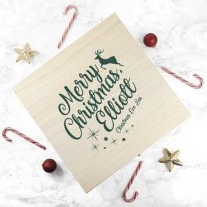 Personalised Rudolf Christmas Eve Box