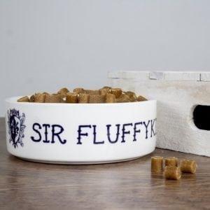 Personalised Sir Cat Bowl