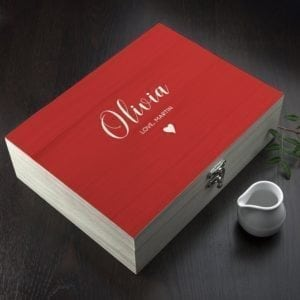 Personalised 'You Are My Cup of Tea' Tea Box