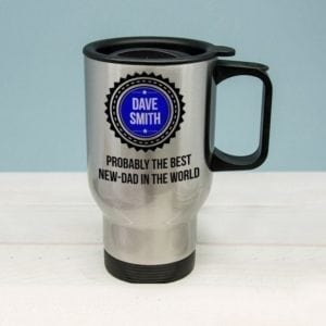 Probably The Best New Dad In The World Travel Mug