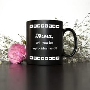 Will You Be My Bridesmaid Pinterest Wedding Mug
