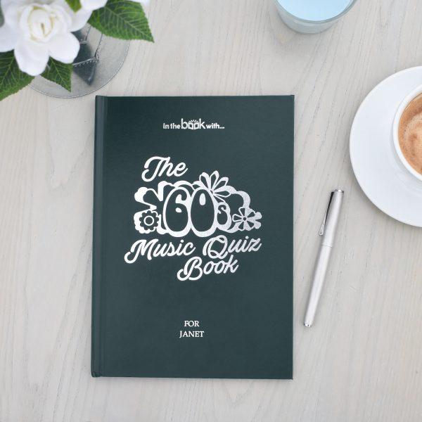 Personalised 1960s Music Quiz Book