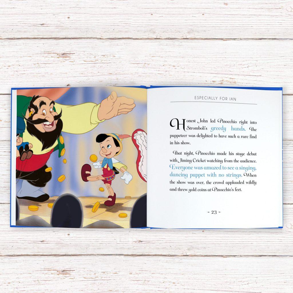 Personalised Disney Pinocchio StoryBook