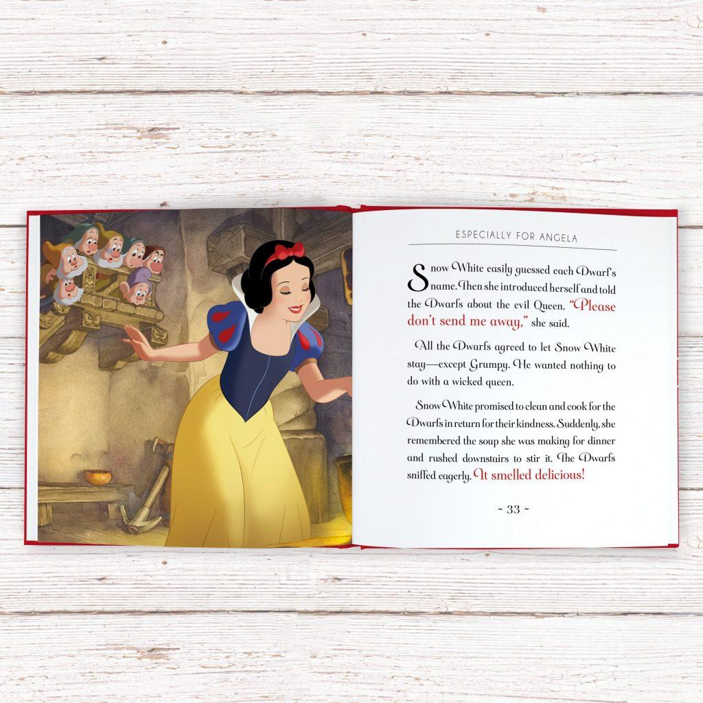 Personalised Disney Snow WhiteStoryBook