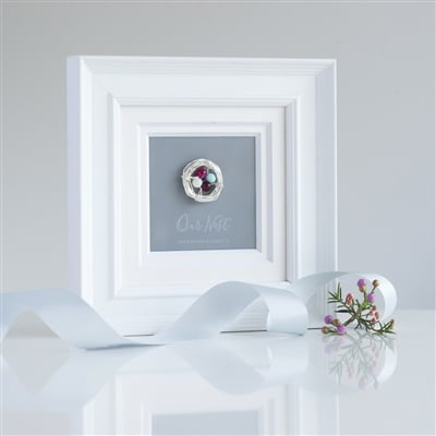'Our Nest' Birthstone Frame