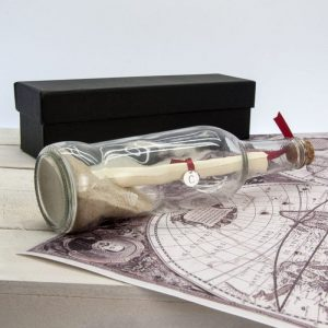 Luxury Personalised Message in a Bottle