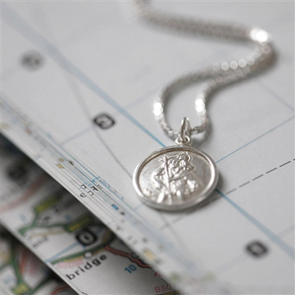 St Christopher Necklace