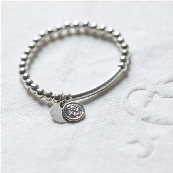 Silver St Christopher Baby Bracelet