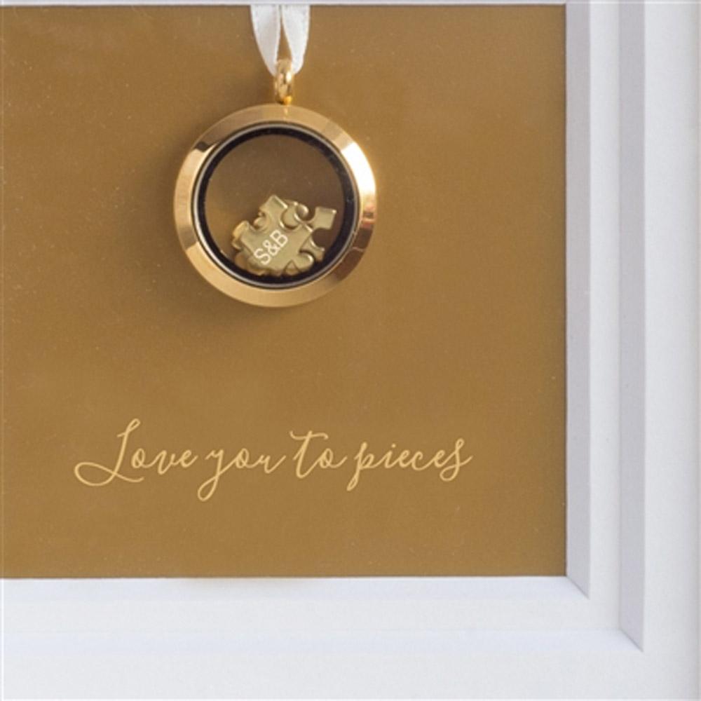 'I Love You To Pieces' Frame