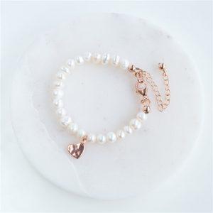 Pearl Christening Bracelet
