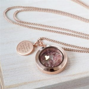 'Heart of Gold' Necklace