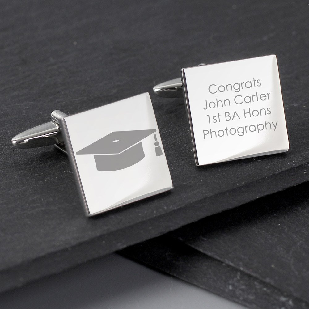 Graduation Square Cufflinks