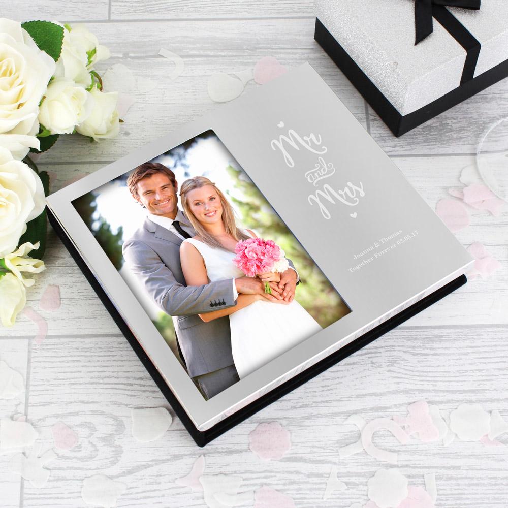 Mr and Mrs 6x4 Photo Frame Album