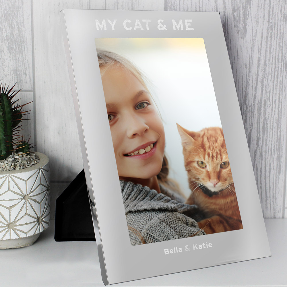 & Me 7x5 Silver Photo Frame