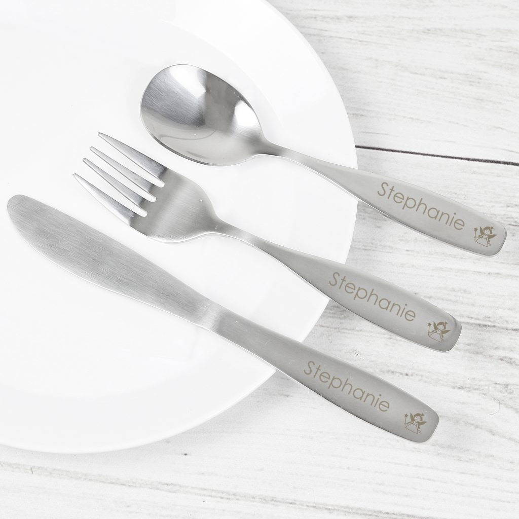 3 Piece Fairy Cutlery Set