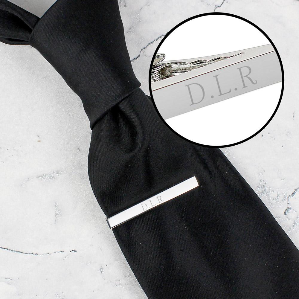 Initials Tie Clip