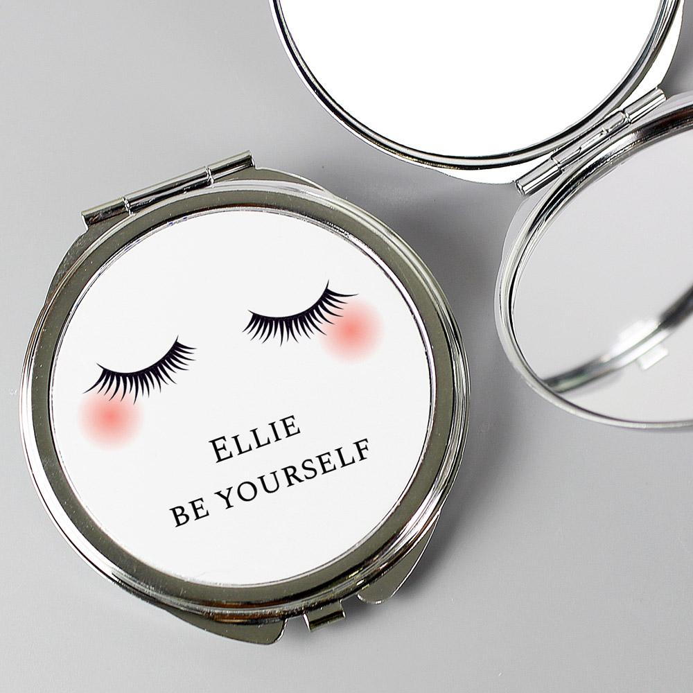 Eyelashes Compact Mirror